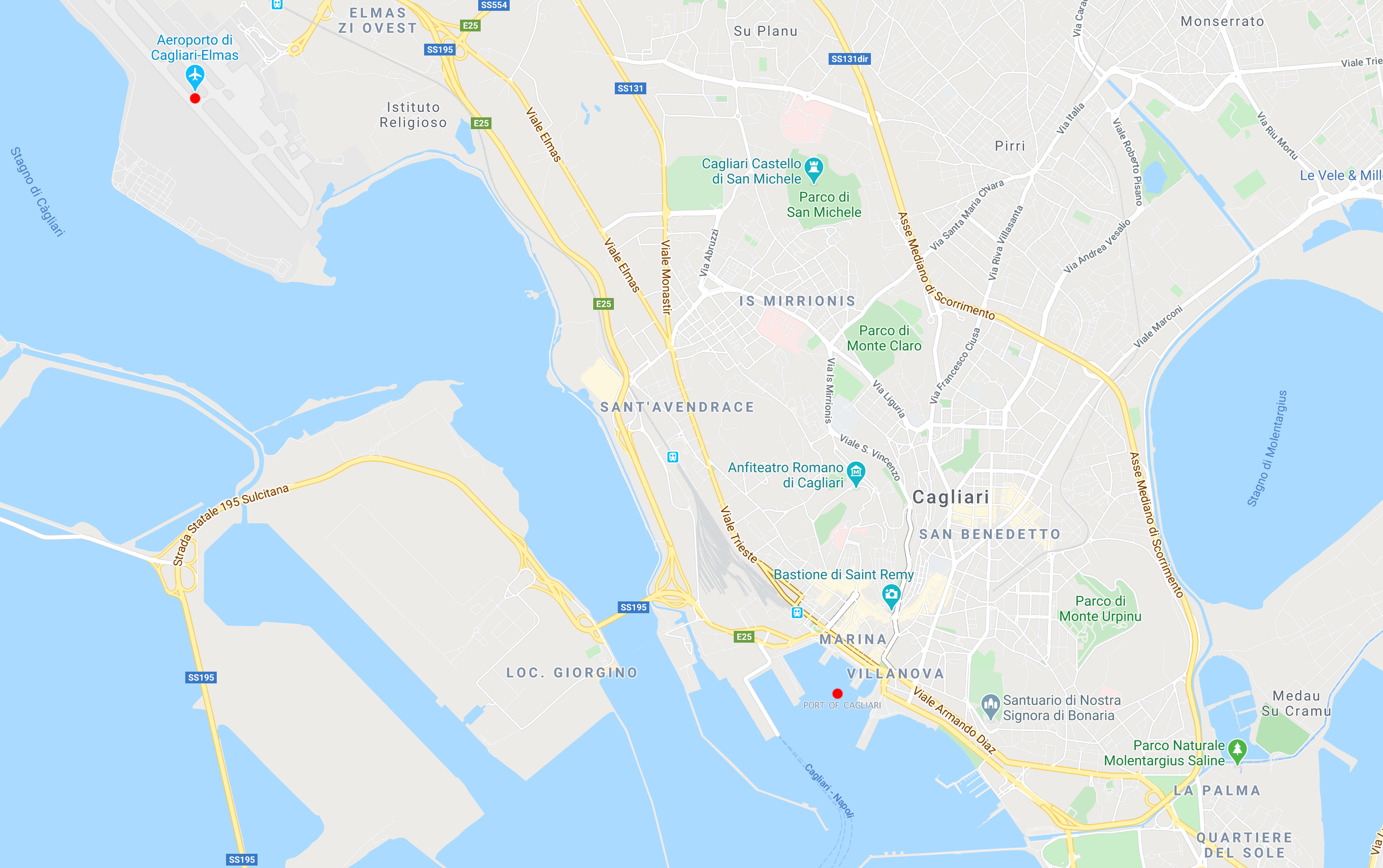 How to get to Cagliari - 24th Financial Reporting and ...